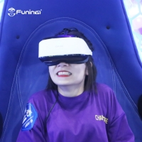 Wholesale 2 seats Rated Load 200kg  9d VR 360 vr simulator egg chairs movies vr shooting for sale virtual reality simulator from china suppliers