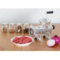 China Heavy Duty Manual Meat Grinder Machine Aluminum With Carbon Steel Knife #32 on sale