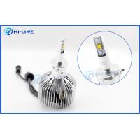 Wholesale H3 Philips LED Headlight Bulbs BMW Audi 6000K Cool White 3000LM 25W from china suppliers