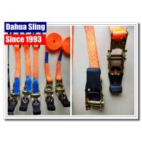 Wholesale Customized Length Short Ratchet Tie Down Straps For Motorcycle Lightweight from china suppliers