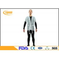Wholesale PP NoN Woven SPA Disposable Kimono Robe , Spulance Kimono Gown Robes from china suppliers