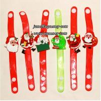Wholesale Buy 2014 Christmas gift for friends LED silicone wristband with factory price from china suppliers