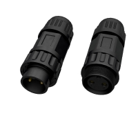 Wholesale Soldering IP68 M21 12 Pin Nylon PA66 Waterproof Circular Connector from china suppliers