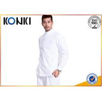Wholesale Plain Color Mens Medical Scrubs Uniforms Embroidery With Long Sleeve from china suppliers