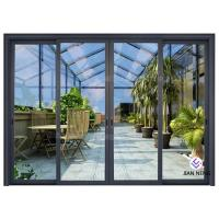 Wholesale Thermal Break Aluminium Sliding Glass Doors Color Optional With Security System from china suppliers