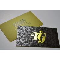 Wholesale Foil Business card/ Customized business card/Plastic business card from china suppliers
