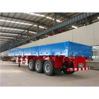 China TITAN Flatbed sidewall semi trailer ,cargo transport semitrailer ,flatbed semitrailer with sidewall on sale