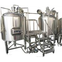 Commercial Beer Making Equipment Stainless Steel 60 Degree Conical Bottom