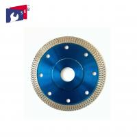 China Smooth Diamond Saw Blades , Cutting And Grinding Ceramic Tile Saw Blades on sale