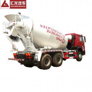 10cbm Capacity Volume Concrete Mixer Truck HOWO 6x4 Sinotruk Cement Mixer Truck