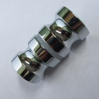Wholesale High level in mirror double pull shower door knob back-to-back Euro style knobs from china suppliers
