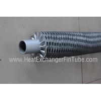 A179 / A192 / SA210 SMLS Carbon Steel tube , OD25.4mm I Type Threaded Steel Fin Tube