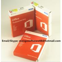 Wholesale 32 / 64 Bit Office 2016 Pro Plus Retail For Global Area Full Functions from china suppliers