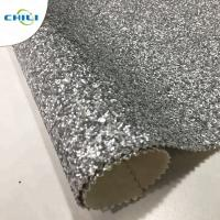 Wholesale Non Woven Glitter Wall Fabric , Chunky Glitter Wallpaper Decorative Application from china suppliers
