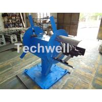 Quality Accessories Of Cold Roll Forming Machine , Manual Double Head Hydraulic Uncoiler for sale
