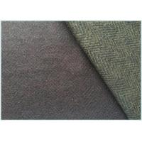 Wholesale Various Colors Stretch Wool Fabric With Herringbone 650 Gram Per Meter from china suppliers