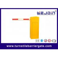 Wholesale Remote Control Parking Barrier Gate , Parking Lot Security Gates Aluminum Alloy Motor from china suppliers
