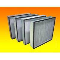Wholesale Efficiency HEPA Air Conditioning Clean Room Air Filters for Air Shower from china suppliers
