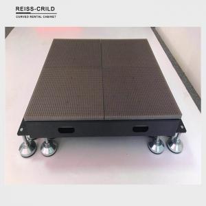 China Die Casting Aluminum Dance Floor LED Display Large Bearing Capacity Good Slip Resistance on sale