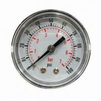 Wholesale Common Pressure Gauge, Steel Case with Bronze Plate Case from china suppliers