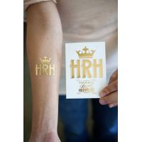 Wholesale Gold and silver metallic temporary tattoo from china suppliers