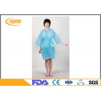 Wholesale Pink Lightweight Disposable SPA Products Bathrobes / Bathroom Robe Sauna Suit Gown from china suppliers