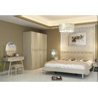 China 3-5 Star Hotel Bedroom Furniture Sets , Hotel Project Furniture High Glossy Painting on sale