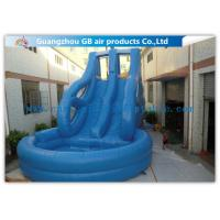 Wholesale Tropical Swiming Pool Huge Inflatable Water Slides For Rent In Hot Summer Games from china suppliers