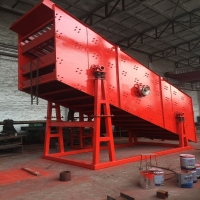 Wholesale High Frequency Vibrating Sieve Machine For Building Materials from china suppliers