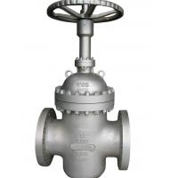 Wholesale API 6D Flat Gate Valve Parallel Slide , Carbon Steel Gate Valve CS B16.10 from china suppliers