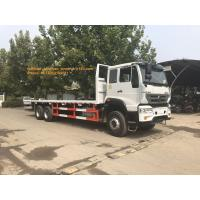 China 4x2 6tires Sinotruk Howo flatbed truck for 10- 20T load capaicty LHD on sale