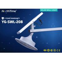 Wholesale 12V 6000K Integrated Solar Powered LED Wall Light For Garden / Roadway from china suppliers