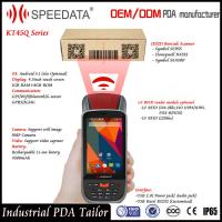 Wholesale Dual Sim Card Android Handheld Smart Card Reader PDA LF Rfid Mobile Reader 125Khz from china suppliers