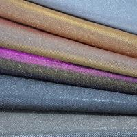 Wholesale Bedroom Decorative Glitter Leather Fabric PU PET Polyester Material from china suppliers