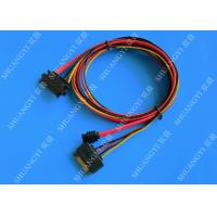 Wholesale Female 22-pin to Male 22-pin SATA Data & Power Combo Data Extension Cable from china suppliers