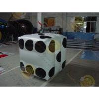 Wholesale White Fireproof Cube Helium Filled Balloons For Outdoor Advertisement from china suppliers