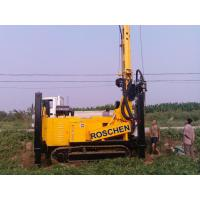 China 400m Water Well Drilling Rig Machine With Eaton Hydraulic Motor 12T Feed Force on sale
