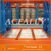 Wholesale Gravity roller rack,heavy duty warehouse rack from china suppliers