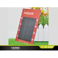 Wholesale 1000MAH 8LED OEM / ODM Solar Laptop Charger For Company Promotion Gifts from china suppliers