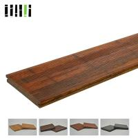 China Outdoor High Density 1220kg/m³ Bamboo Flooring Tiles Eco Friendly With Fine Water Resistance on sale