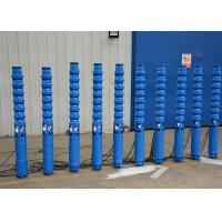 China 3 Phase 60hz / 50hz Deep Well Submersible Pump 10 - 600m Head Vertical Installation on sale