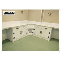 Wholesale Acid And Alkali Resistant PP Laboratory Casework With Corner Cabinet from china suppliers