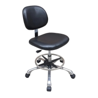Wholesale PA nylon casters PU ESD Anti Static Cleanroom Chair 480*400mm from china suppliers