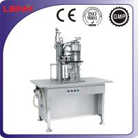 Wholesale Semi-automatic Air Freshener Aerosol Can Filling Machine from china suppliers