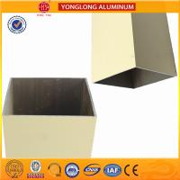 Wholesale Rectangle Powder Coated Aluminium Extrusions / 6063 6063A Aluminum Window Frame Profile from china suppliers