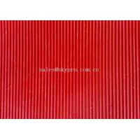 Wholesale Colorful thin rubber mat , Narrow Corrugated Rubber Floor Mat For Workshop from china suppliers