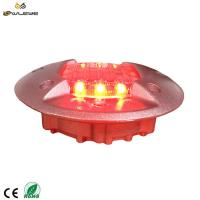 Wholesale Traffic safety equipment solar road stud,IP68 aluminum cat eye road marker super bright LED road stud from china suppliers