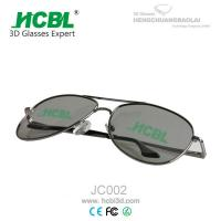 Metal Frame Ray-Ban 3D Glasses Circular Polarized with 0.72 - 1.00mm Filter Lens