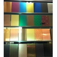 Wholesale SUS316L 8K Mirror Polish Finish Stainless Steel Sheet 4x8  4x10  6000MM/ SS 304 Sheet 0.3MM - 3 MM Plates from china suppliers