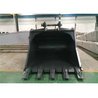 Wholesale Heavy Duty Excavator Rock Bucket For Digging Coal Mine / Hard Soil 1-8m3 Capacity from china suppliers